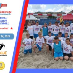 První turnaj v plážové házené