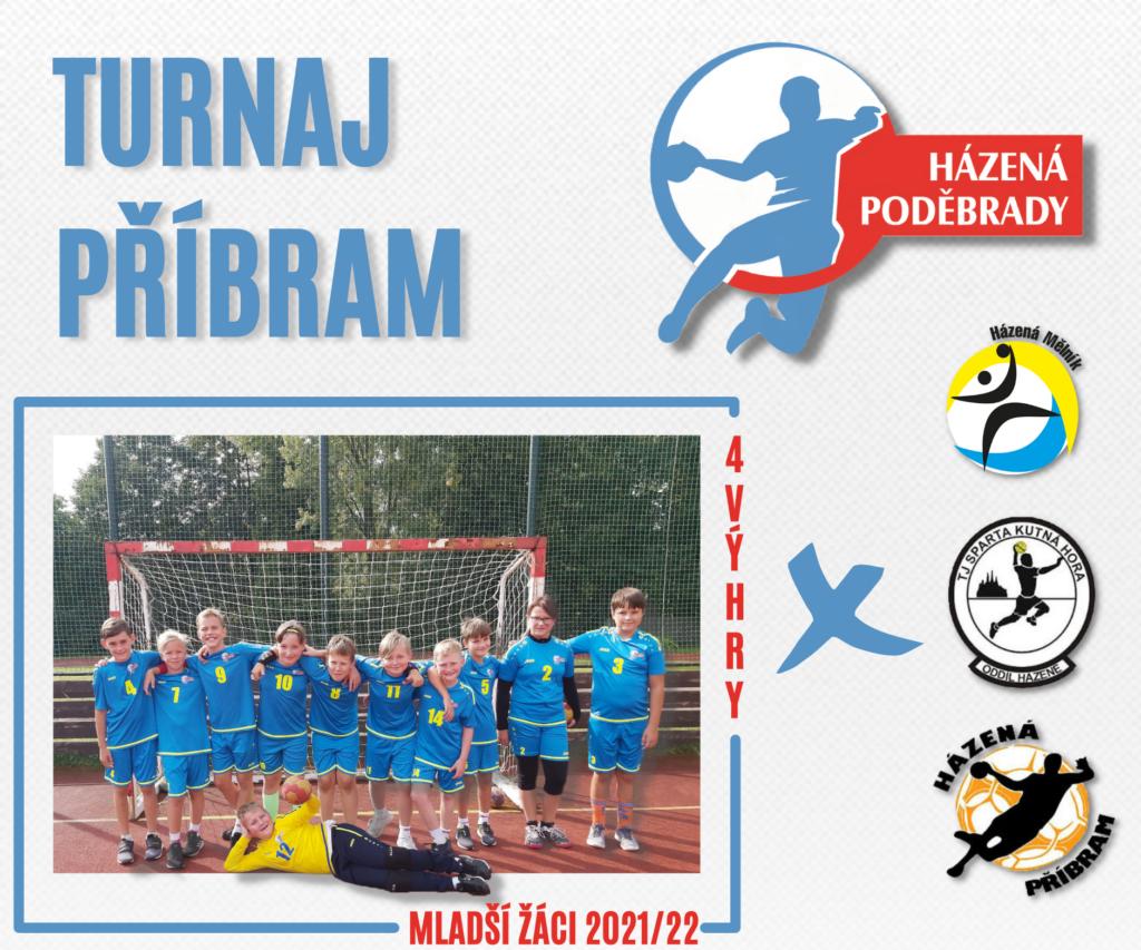První turnaj sezóny, mladší žáci bojovali v Příbrami
